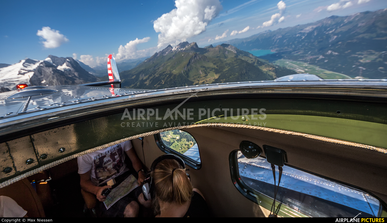 Private N21FS aircraft at In Flight - Switzerland