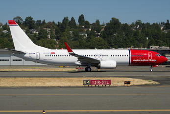 EI-FHK - Norwegian Air Shuttle Boeing 737-800