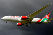 5Y-KZG - Kenya Airways Boeing 787-8 Dreamliner aircraft