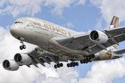 A6-APB - Etihad Airways Airbus A380 aircraft
