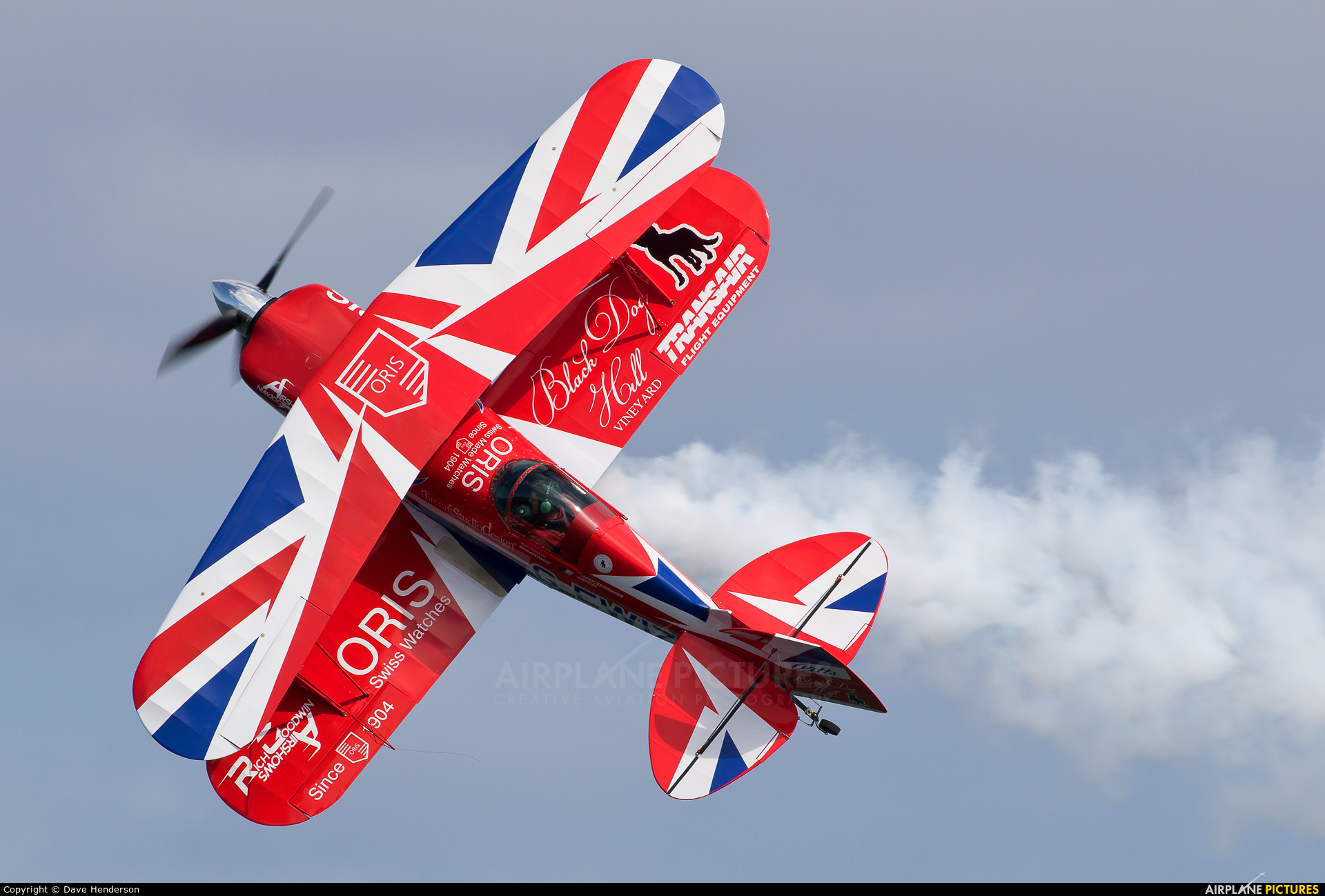 Rich Goodwin Airshows G-EWIZ aircraft at Portrush - Off Airport