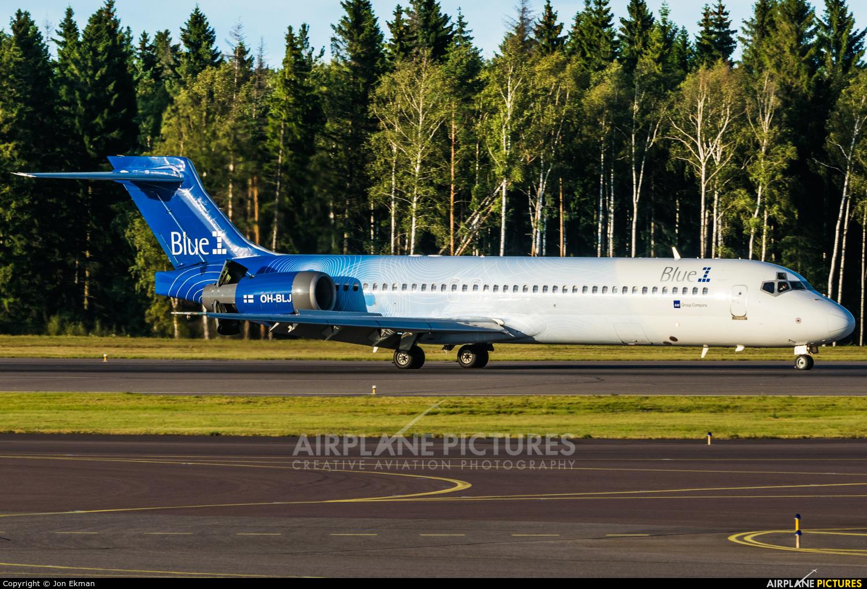 Blue1 OH-BLJ aircraft at Helsinki - Vantaa