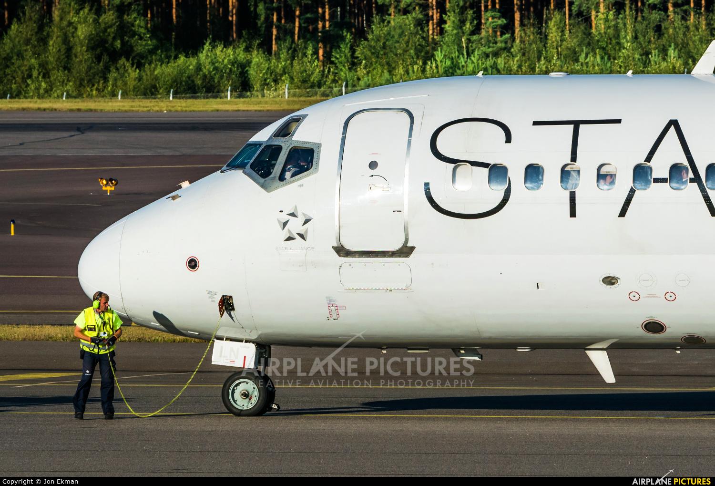 Blue1 OH-BLN aircraft at Helsinki - Vantaa