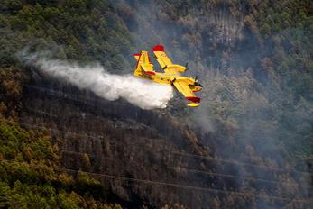 I-DCPR - Italy - Vigili del Fuoco Canadair CL-415 (all marks)