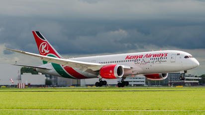 5Y-KZC - Kenya Airways Boeing 787-8 Dreamliner