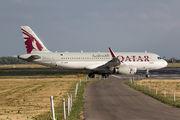 A7-AHW - Qatar Airways Airbus A320 aircraft