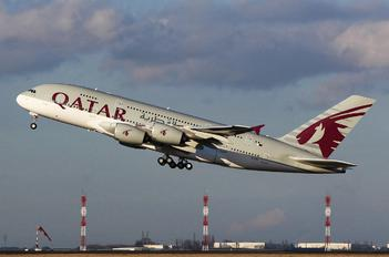 A7-APD - Qatar Airways Airbus A380