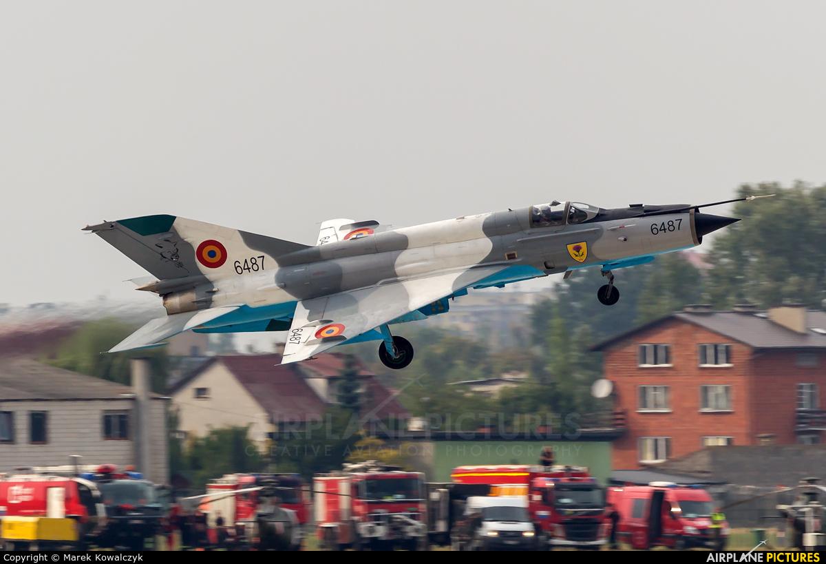 Romania - Air Force 6487 aircraft at Radom - Sadków