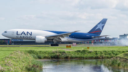 N744LA - LAN Cargo Boeing 777F