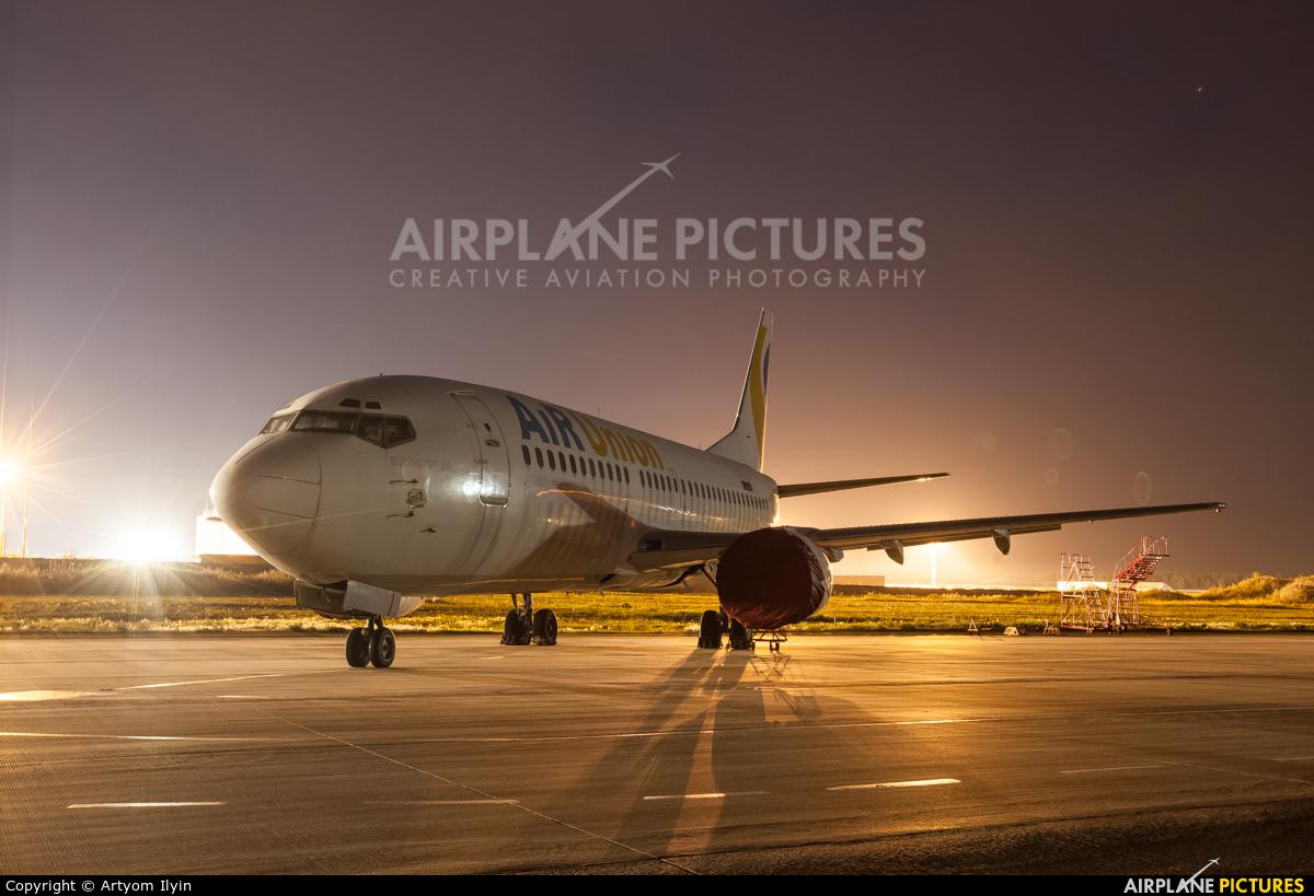 Air Union (Kras Air) - aircraft at Moscow - Domodedovo