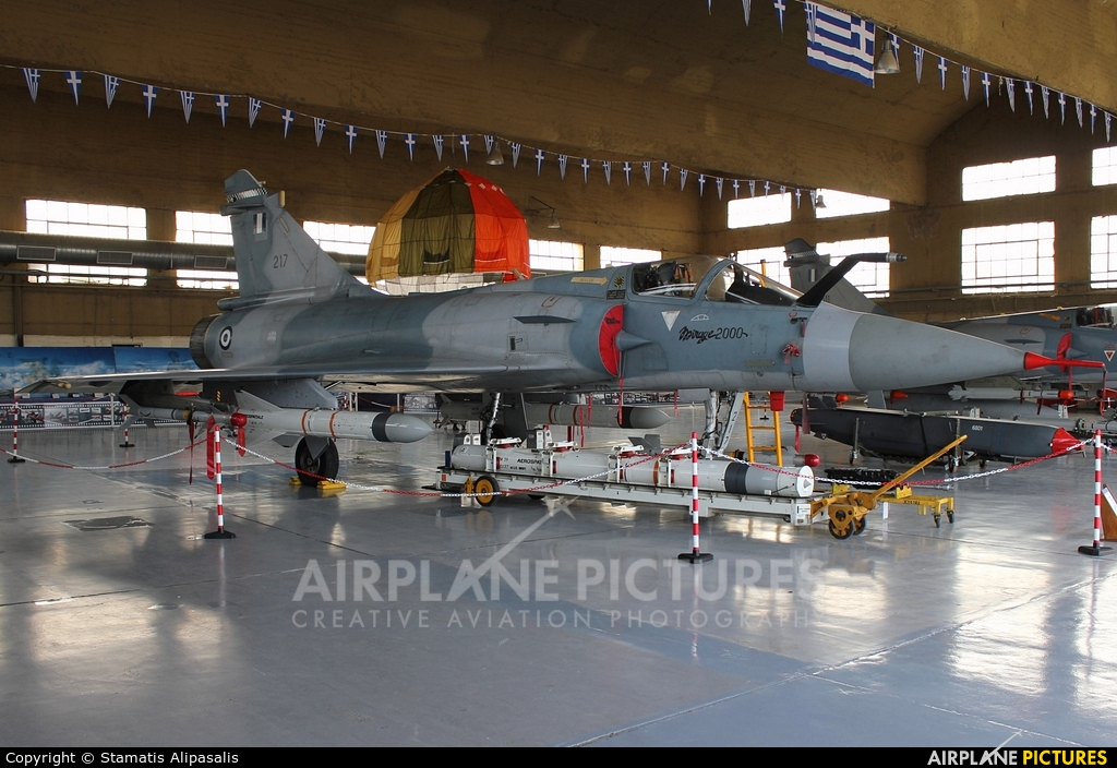 Greece - Hellenic Air Force 217 aircraft at Tanagra