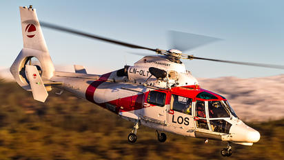 LN-OLT - Lufttransport Eurocopter SA365N