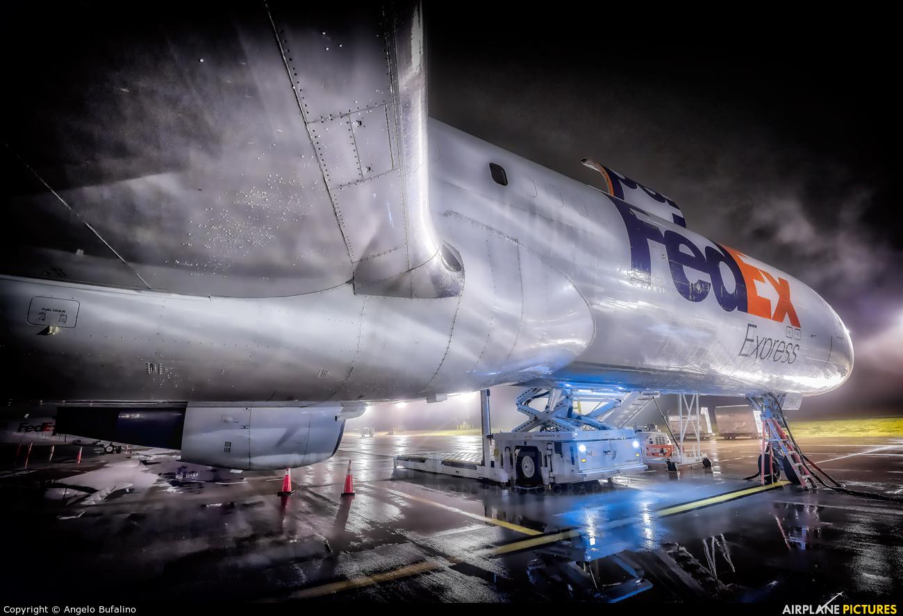 FedEx Federal Express N953FD aircraft at Fort Worth Alliance