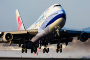 B-18205 - China Airlines Boeing 747-400 aircraft