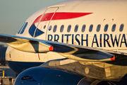 G-DBCA - British Airways Airbus A319 aircraft