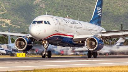 N724UW - US Airways Airbus A319