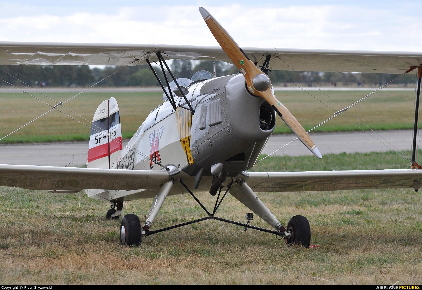 Private SP-YPS aircraft at Hradec Králové