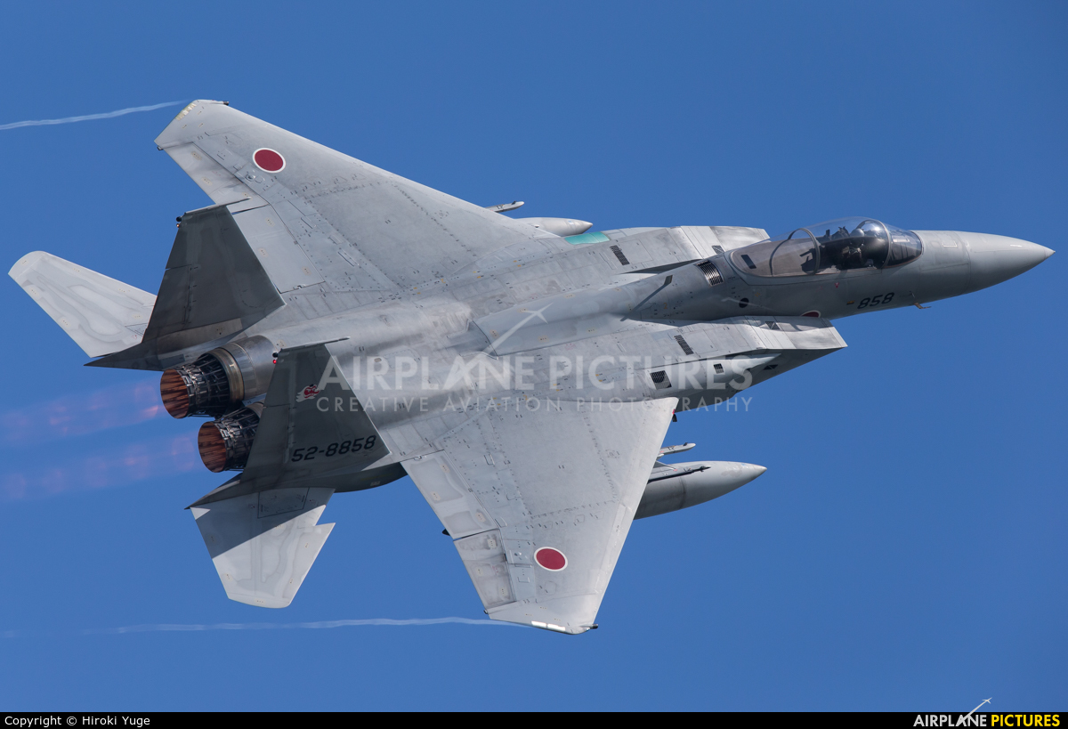 Japan - Air Self Defence Force 52-8858 aircraft at Tsuiki AB