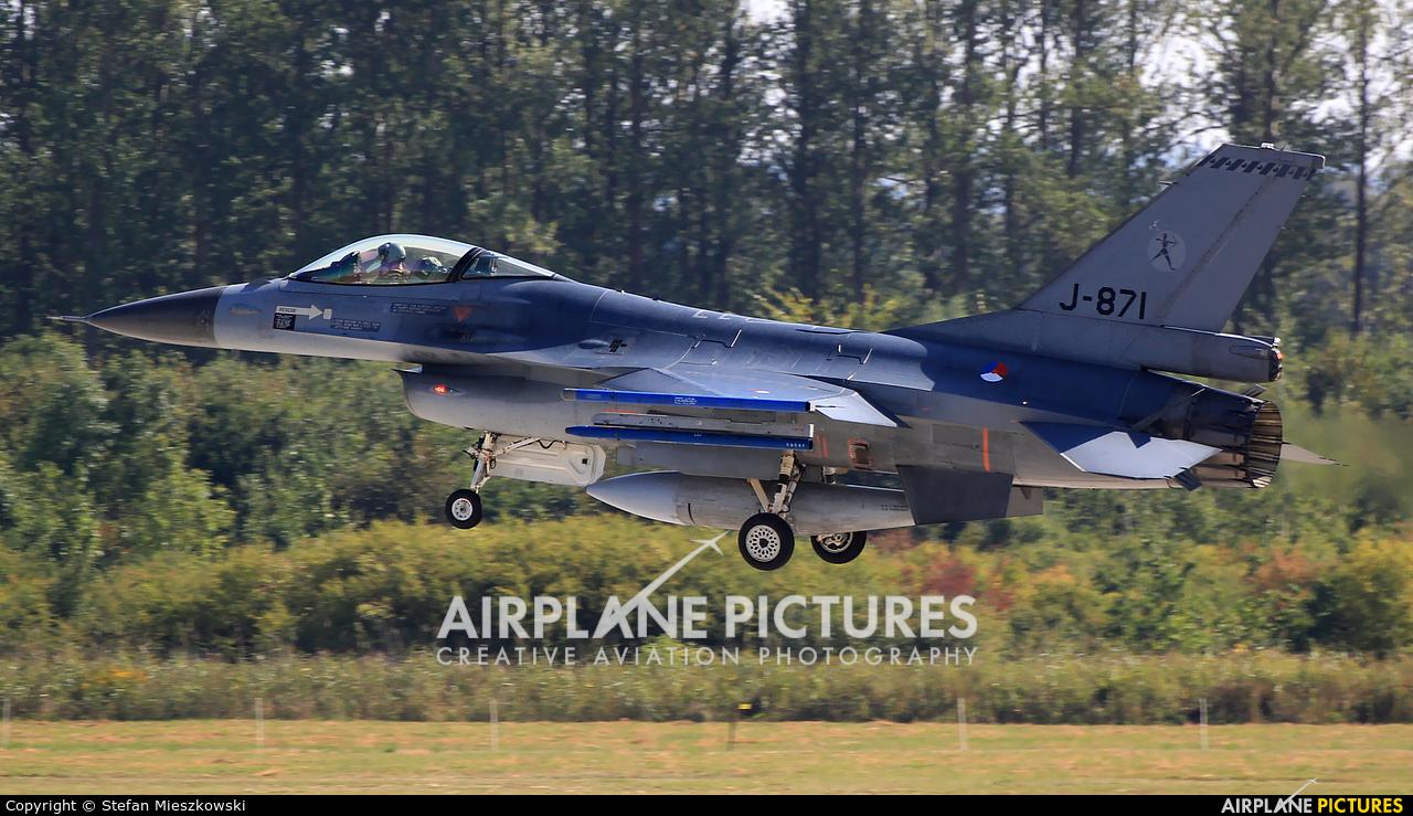 Netherlands - Air Force J-871 aircraft at Malbork