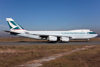 B-HUL - Cathay Pacific Cargo Boeing 747-400F, ERF