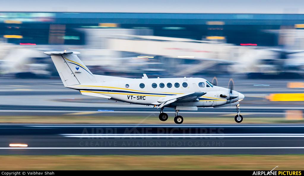 Private VT-SRC aircraft at Mumbai - Chhatrapati Shivaji Intl