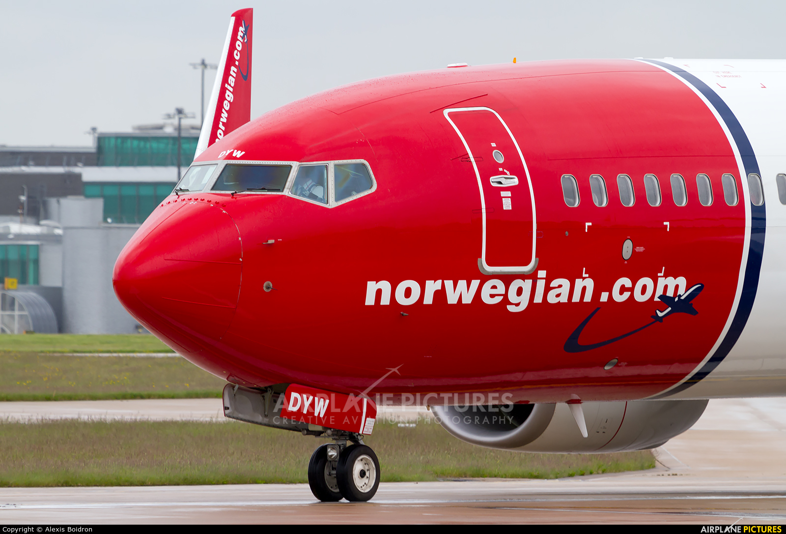 Norwegian Air Shuttle LN-DYW aircraft at Manchester