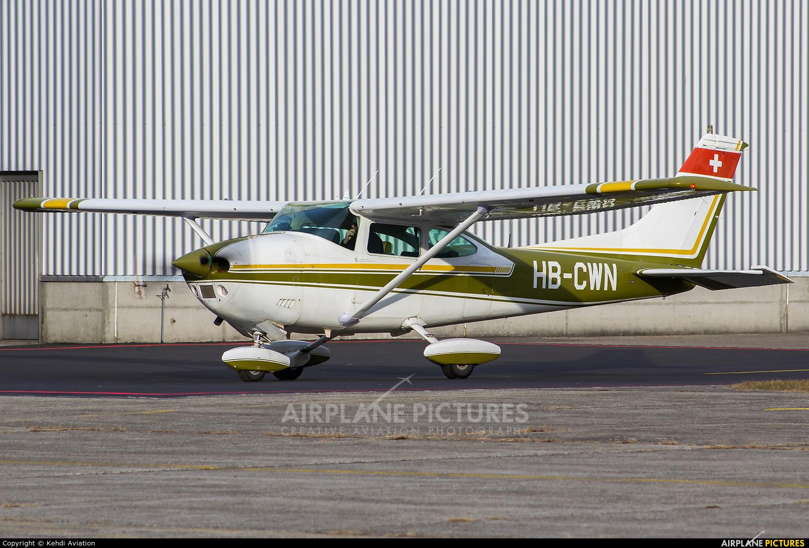 Private HB-CWN aircraft at Locarno
