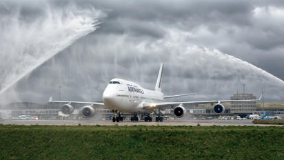 Air France Boeing 747's farewell