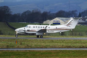 USAF King Air 350 in Glasgow title=