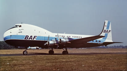 G-AOFW - British Air Ferries  BAF Aviation Traders ATL-98 Carvair