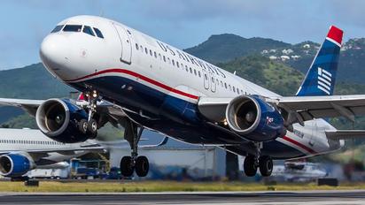N108UW - US Airways Airbus A320