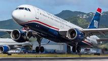 N108UW - US Airways Airbus A320 aircraft