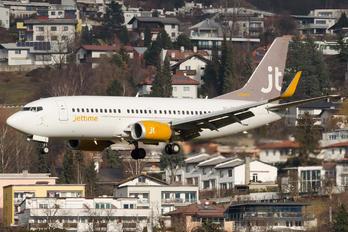 OY-JTB - Jet Time Boeing 737-300