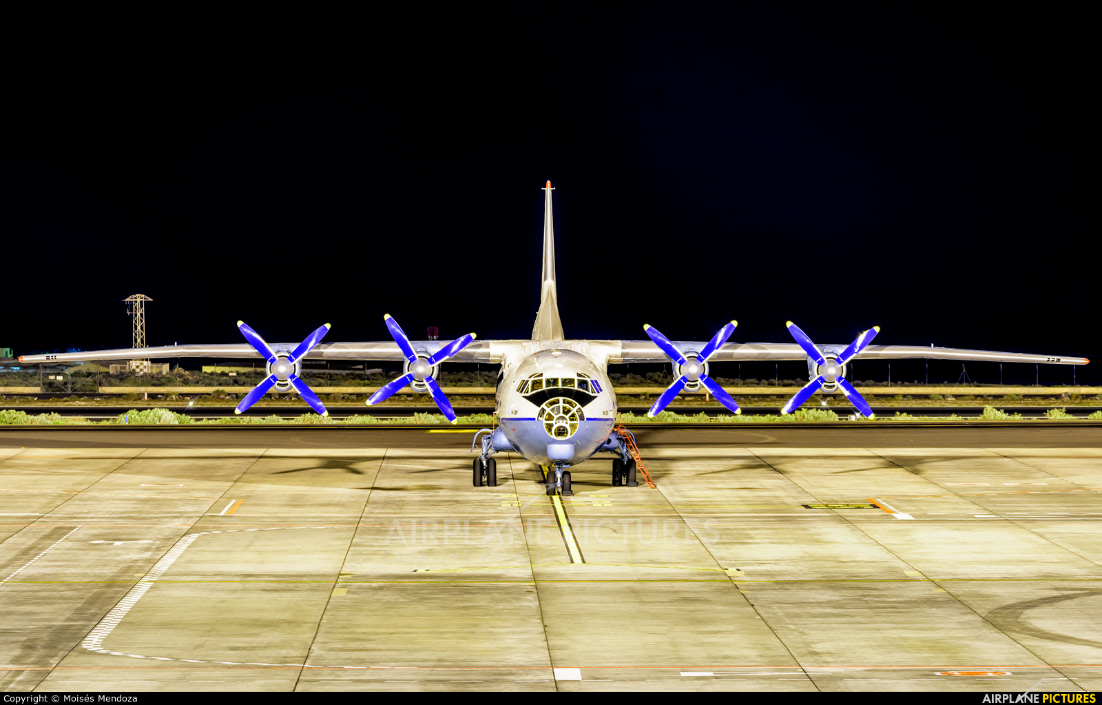 AeroVis Airlines UR-CBG aircraft at Tenerife Sur - Reina Sofia
