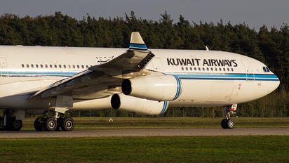 9K-ANC - Kuwait Airways Airbus A340-300