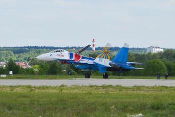 "02-BLUE - Russia - Air Force ""Russian Knights"" Sukhoi Su-27P"