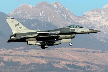 89-0026 - USA - Air Force General Dynamics F-16CG Night Falcon