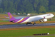 HS-TNF - Thai Airways Airbus A340-600 aircraft