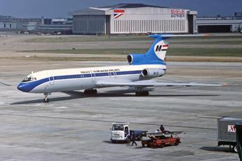 HA-LCI - Malev Tupolev Tu-154