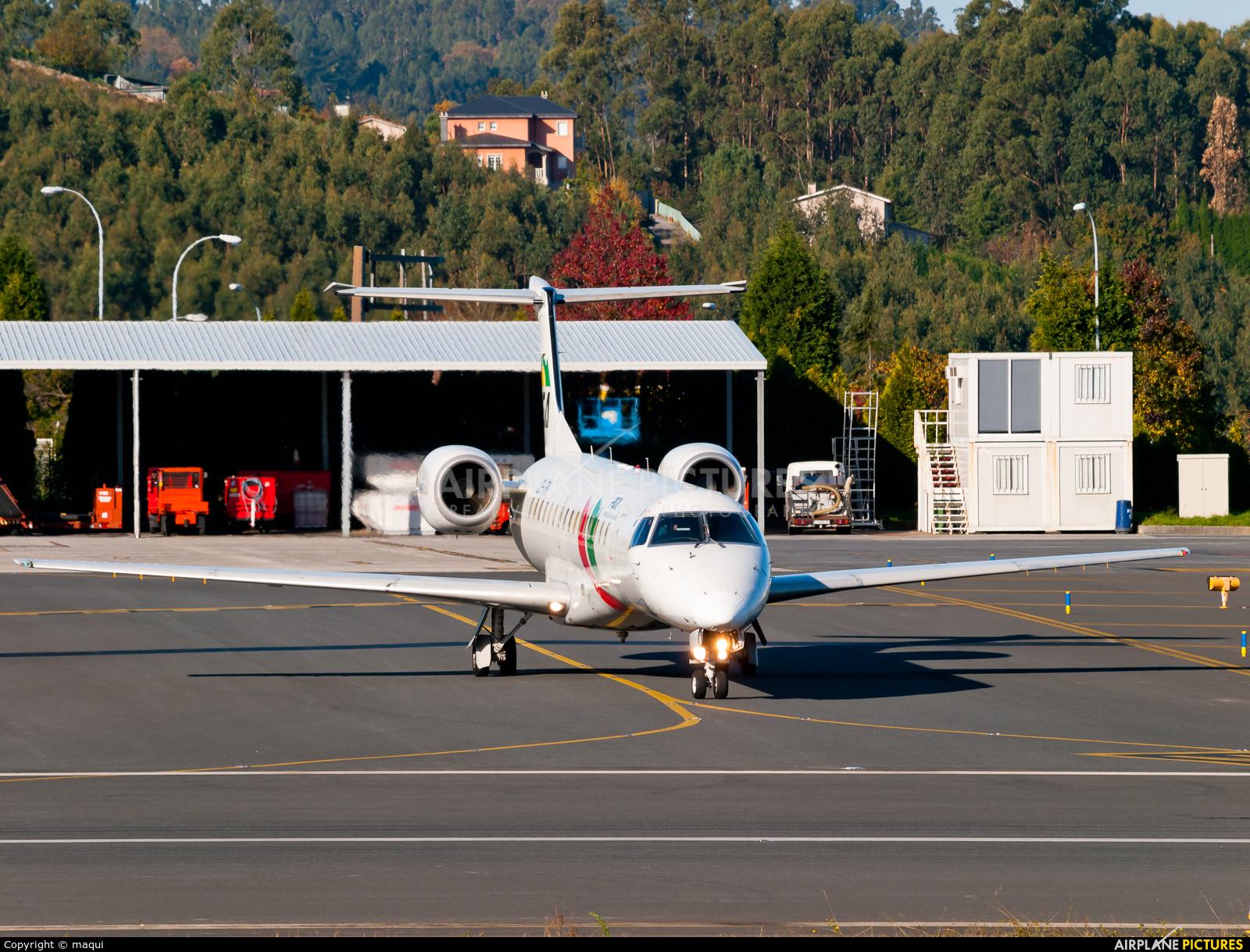 PGA Portugalia CS-TPK aircraft at La Coruña