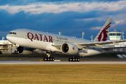 A7-BBF - Qatar Airways Boeing 777-200LR aircraft