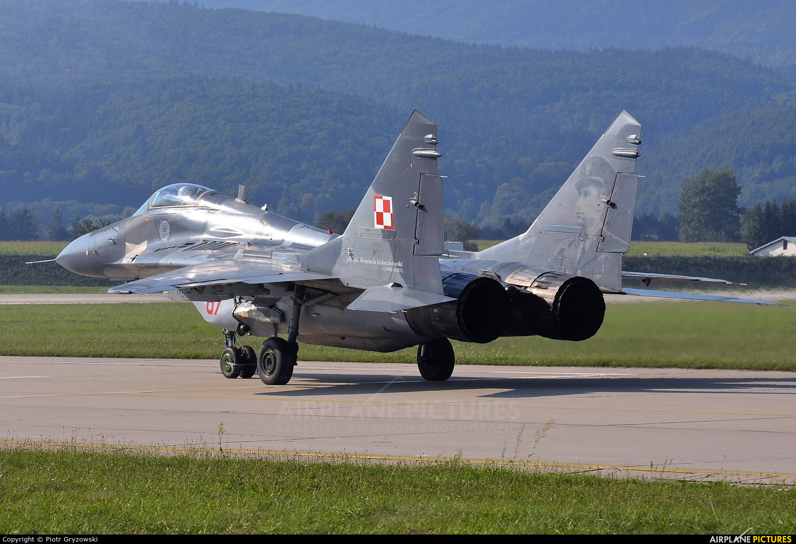 Poland - Air Force 67 aircraft at Sliač