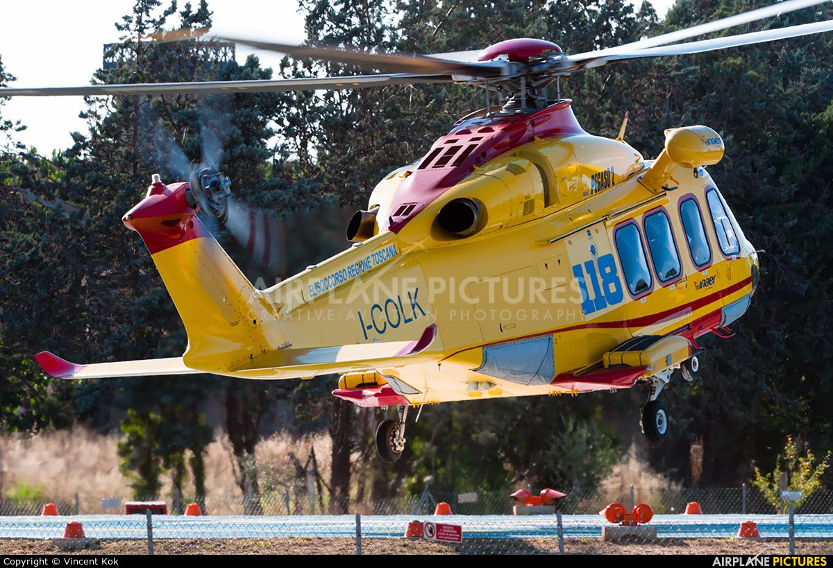 INAER I-COLK aircraft at Off Airport - Italy