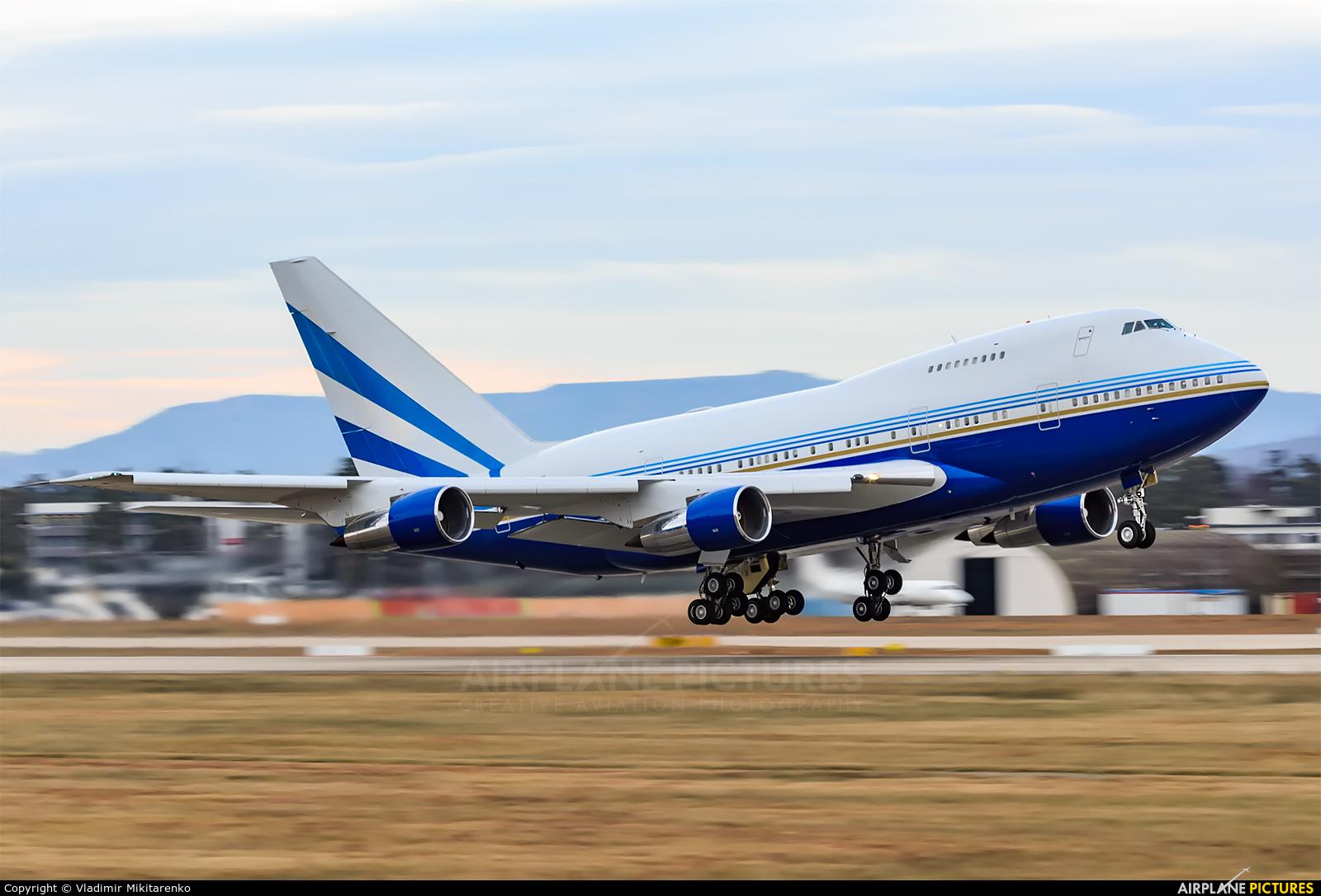Las Vegas Sands VP-BLK aircraft at Karlsruhe Baden-Baden