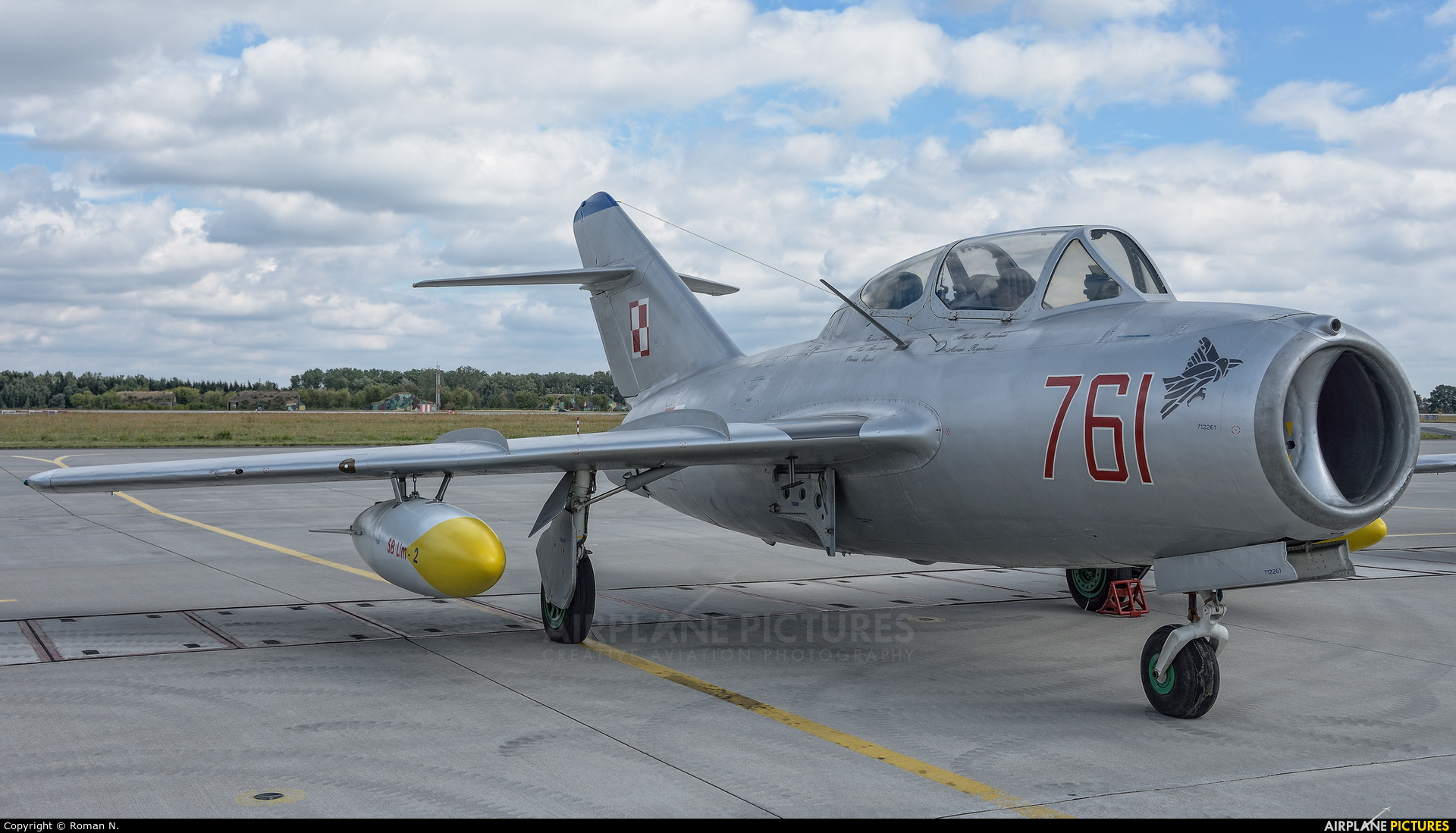 Poland - Air Force 761 aircraft at Poznań - Krzesiny