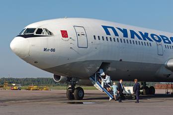 RA-86092 - Pulkovo Airlines Ilyushin Il-86
