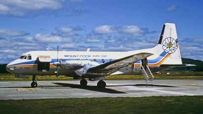 ZK-DES - Mount Cook Airlines Hawker Siddeley HS.748