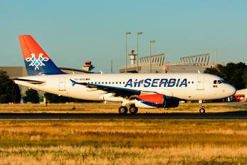YU-APD - Air Serbia Airbus A319