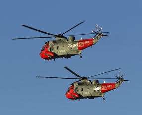 ZA130 - Royal Navy Westland Sea King HU.5
