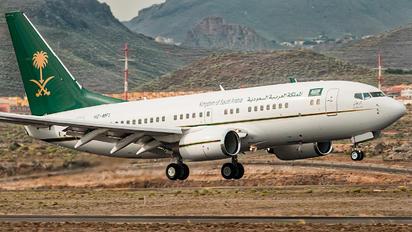 HZ-MF1 - Saudi Arabia - Government Boeing 737-700 BBJ